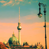 Berlin german dome Royalty Free Stock Images