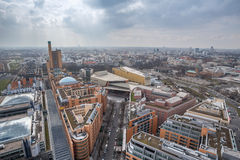 Berlin germany from above Royalty Free Stock Photos