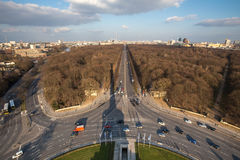 Berlin germany from above Stock Photography