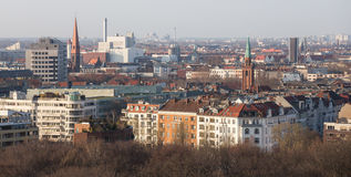 Berlin germany from above Stock Image