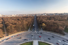 Berlin germany from above Royalty Free Stock Photo