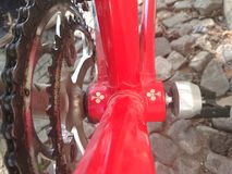Colnago bike, detail stock photo