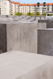 Memorial to the murdered Jews of Europe in Berlin Stock Photography