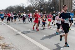 BERLIN, GERMANY - April 3, 2016: Half Marathon Berlin Stock Image