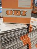 Obi logo Stock Photography