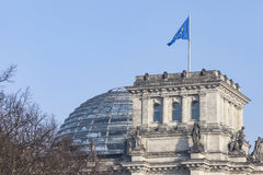 BERLIN, GERMANY - APRIL 11, 2014: Reichstag building Stock Photo