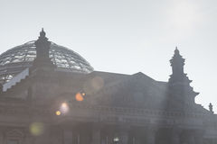 BERLIN, GERMANY - APRIL 11, 2014: Reichstag building Royalty Free Stock Photography