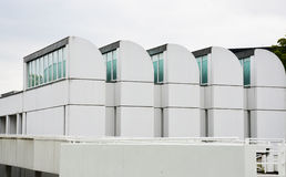 Berlin, Germany - 5 Aug 2015 : The Bauhaus Archive, Museum of Design, collects art pieces, items, and literature which relate to t Royalty Free Stock Photo