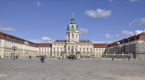 Berlin,Germany-august 27:Chalottenburg Palace from Berlin in Germany Royalty Free Stock Image