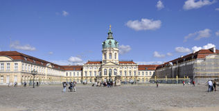 Berlin,Germany-august 27:Chalottenburg Palace from Berlin in Germany royalty free stock images