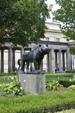 Berlin,Germany-august 27:Lion Statue of Pergamon Museum from Berlin in Germany Stock Photos
