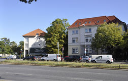 Berlin,Germany-august 27:Luxury Apartment houses from Berlin in Germany stock photo