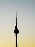 berlin Germany basztowy tv Zdjęcia Stock