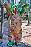 Berlin, Germany. The bear sculpture Stock Photography