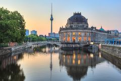 Museum island - Berlin - Germany Stock Photos