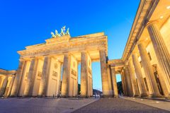 Brandenburg Gate - Berlin - Germany. Berlin Brandenburg Gate at Germany stock photos
