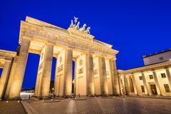 Berlin Germany an Brandenburger Tor lizenzfreie stockbilder