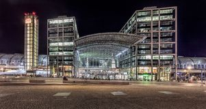 Berlin, Germany, Central Station Royalty Free Stock Images