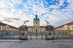 Charlottenburg palace - Berlin - Germany Stock Images