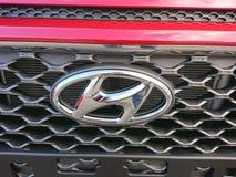 Hyundai car. Berlin, Germany - December 26, 2017: Hyundai car. The Hyundai Motor Company is a South Korean multinational automotive manufacturer stock images