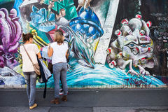 Berlin, Germany - East Side Gallery Stock Photo