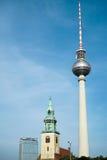 BERLIN, GERMANY/EUROPE - 15. SEPTEMBER: Ansicht in Richtung zum Berline Lizenzfreies Stockbild