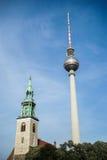 BERLIN, GERMANY/EUROPE - 15. SEPTEMBER: Ansicht in Richtung zum Berline Lizenzfreie Stockfotos