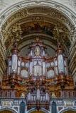 BERLIN GERMANY/EUROPE - SEPTEMBER 15: Detalj av domkyrkan Royaltyfria Bilder
