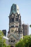 BERLIN, GERMANY/EUROPE - 15. SEPTEMBER: Kaiser Wilhelm Memorial lizenzfreie stockfotografie
