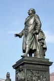 BERLIN GERMANY/EUROPE - SEPTEMBER 15: Monument till Baron Freihe Arkivfoton