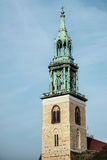 BERLIN, GERMANY/EUROPE - SEPTEMBER 15 : St Marys Church Marienkirche in Berlin Germany on September 15, 2014 stock photo