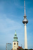 BERLIN, GERMANY/EUROPE - SEPTEMBER 15 : View towards the Berline Royalty Free Stock Image