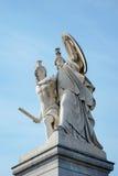 BERLIN, GERMANY/EUROPE - 15 SEPTEMBRE : Statue de jeune homme menée image stock
