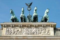 BERLIN, GERMANY/EUROPE - WRZESIEŃ 15: Brandenburg brama Mon zdjęcie stock