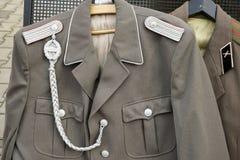 BERLIN, GERMANY/EUROPE - WRZESIEŃ 15: Drugi wojna światowa mundur fotografia stock