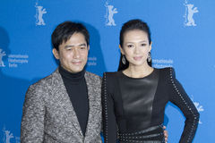Ziyi Zhang, Tony Leung Chiu Wai Stock Photography