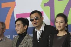 Ziyi Zhang, Tony Leung Chiu Wai Royalty Free Stock Photography