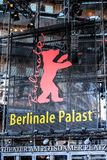 Facade of the Berlinale Palast in Berlin. Berlin, Germany - February 15, 2018: Facade of the Berlinale Palast in Berlin or the Theater am Potsdamer Platz, the Royalty Free Stock Photo