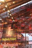 Berlinale Palast exterior during the 68th Berlinale Film Festival. Berlin, Germany - February 22, 2018: Facade of the Berlinale Palast in Berlin or the Theater Stock Images