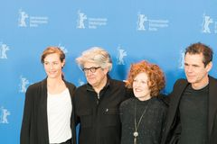 Jury members of 68th edition of the Berlinale Film Festival 2018 royalty free stock images