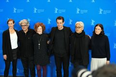Jury members of the 68th edition of the Berlinale Film Festival Royalty Free Stock Photography