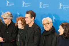 Jury members of 68th edition of the Berlinale Film Festival 2018 Royalty Free Stock Photos
