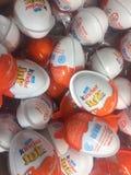 Kinder Joy eggs royalty free stock image