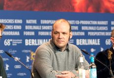 Nathan Zellner at Berlinale 2018 Stock Photo