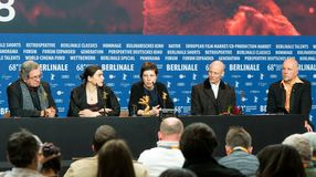 Award Winners press conference during the 68th Berlinale 2018 Royalty Free Stock Images