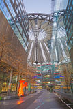 BERLIN, GERMANY, FEBRUARY - 15, 2017: The Sony center in morning. The centre was designed by Helmut Jahn and Peter Walker Stock Image