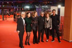 The 68th Berlinale jury members royalty free stock images
