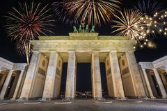 Brandenburg Gate - Berlin - Germany Royalty Free Stock Images