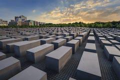 Jewish Holocaust Memorial - Berlin - Germany Royalty Free Stock Image