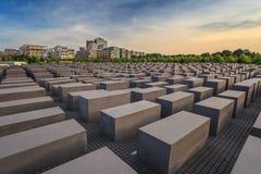 Jewish Holocaust Memorial - Berlin - Germany Stock Photos